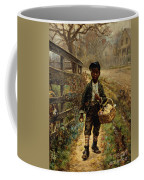 Protecting The Groceries Coffee Mug by Edward Lamson Henry