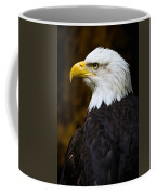 Proud Eagle Profile Coffee Mug by Athena Mckinzie