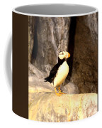 Proud Puffin Coffee Mug