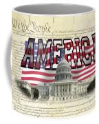Proud To Be American Coffee Mug