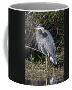 Pround Blue Heron Coffee Mug