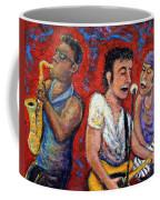 Prove It All Night Bruce Springsteen And The E Street Band Coffee Mug by Jason Gluskin