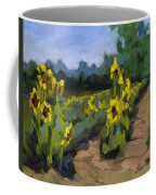Provence Sunflower Field Coffee Mug
