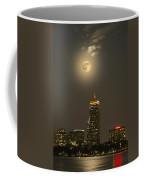 Prudential Tower With Supermoon 2013 Coffee Mug