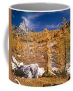 Prusik Peak Above Larch Grove Coffee Mug