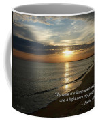 Psalm 119-105 Your Word Is A Lamp Coffee Mug