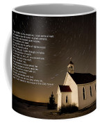 Psalm 23 Night Photography Star Trails Coffee Mug