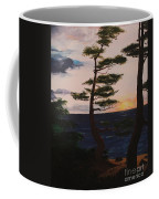 Psalms 136 Verse 7 And 8 Left Panel Coffee Mug
