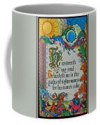 Psalms 23-3 Coffee Mug
