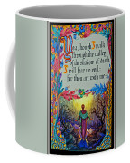 Psalms 23-4a Coffee Mug