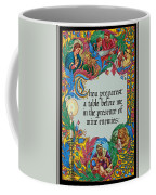 Psalms 23-5a Coffee Mug
