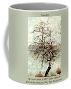 Psalms 24 V 1 Coffee Mug