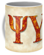 Psi Upsilon - Parchment Coffee Mug