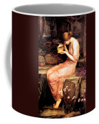 Psyche Opening The Golden Box 1903 Coffee Mug