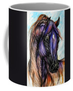 Psychedelic Blue And Orange Coffee Mug
