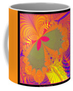 Psychedelic Butterfly Explosion Fractal 61 Coffee Mug