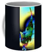 Psychedelic Kitty Coffee Mug
