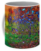 Psychedelic Mind Coffee Mug by Linda Sannuti