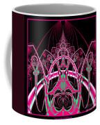 Psychedelic Rollercoaster Tunnel Fractal 65 Coffee Mug