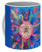Psychedelic Squid 2 Coffee Mug