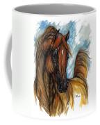 Psychodelic Chestnut Horse Original Painting 2 Coffee Mug