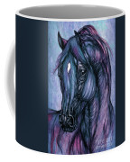 Psychodelic Deep Blue Coffee Mug