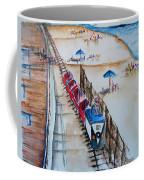 Pt Pleasant Nj Sand Train Coffee Mug