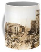 Public Square Cleveland Ohio 1912 Coffee Mug
