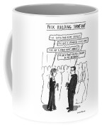 Puck Building Shoot-out Coffee Mug