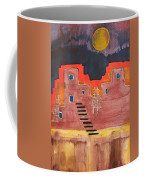 Pueblito Original Painting Coffee Mug