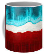 Pueblo Cemetery Original Painting Coffee Mug