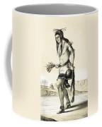 Pueblo Zuni Buffalo Dance, 1850s Coffee Mug