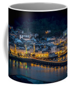 Puentedeume View From Cabanas Galicia Spain Coffee Mug
