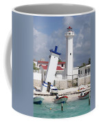 Puerto Morelos Lighthouse Coffee Mug