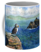 Puffin At Skellig Island Ireland Coffee Mug