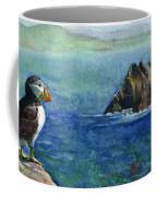 Puffin At Skellig Island Ireland Coffee Mug