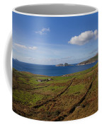 Puffin Island From The Skelligs Ring Coffee Mug