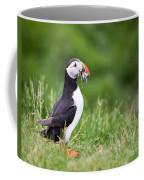 Puffin With Sandeels Coffee Mug