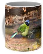 Puffy Green Jay Coffee Mug