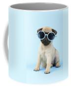 Pug Cool Coffee Mug by Greg Cuddiford