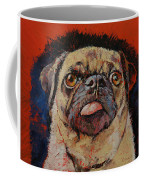 Pug Portrait Coffee Mug