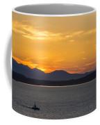 Puget Sound Evening Tug Coffee Mug