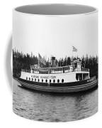 Puget Sound Ferry Boat Coffee Mug