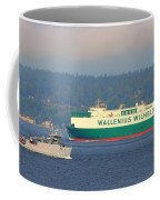 Puget Sound Shipping Waterway Coffee Mug