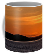 Puget Sound Sunset - Washington Coffee Mug by Brian Harig