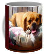 Puggle Lounging Coffee Mug