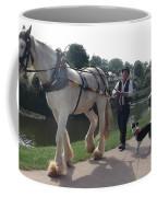 Pulling The Barge Coffee Mug