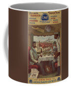 Pullman Compartment Cars Ad Circa 1894 Coffee Mug