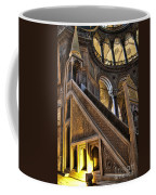 Pulpit In The Aya Sofia Museum In Istanbul  Coffee Mug by David Smith