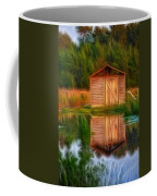 Pump House Reflection Coffee Mug